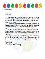 Pics Photos - Easter Bunny Letter To Child Who Wrote A Letter